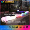 Illuminated Glowing LED Snake Bench Seating Stool
