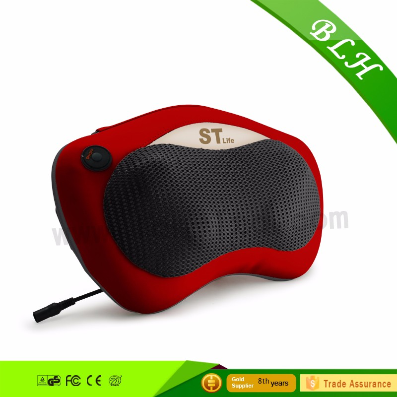 LCH-10055B Shiatsu Kneading Massage Pillow with Heat Massage Relax Sooth and Relieve Neck <strong>Shoulder</strong> and Back Pain