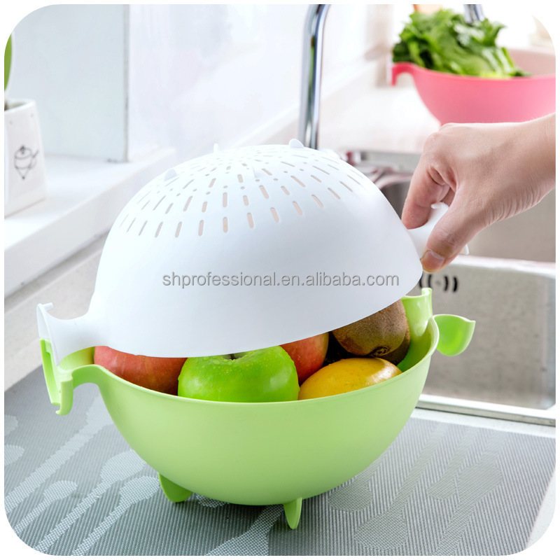 Hot sale fruit plastic storage basket