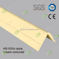 Plastic paneling corner guard