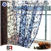 100% polyester popular organza curtains fabric