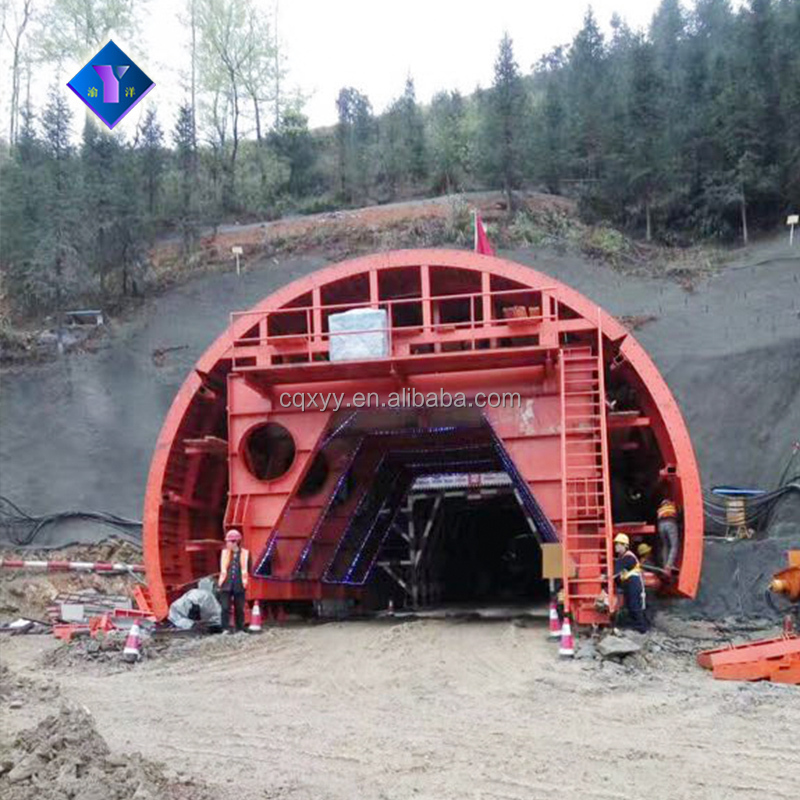 China most popular cost saving tunnel culvert trolley formwork system