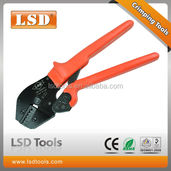 LSD High Quality experience 10years AP-04WF for1-6mm2 wire-end ferrlues ratchet hand Crimping tools