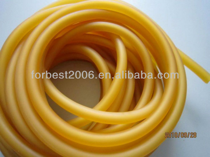 Colorful High Elasticity Surgical Latex Tubing