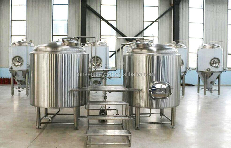 2500 liter brewhouse filtration equipment for home brewery beer brewing equipment