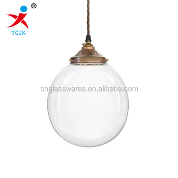 200mm clear glass globe pendant lamp shadehanging glass ball 200mm clear glass globe pendant lamp shadehanging glass ball pendant light mozeypictures Choice Image
