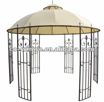 round roof gazebo buy round metal gazebo double roof gazebo outdoor gazebo with metal. Black Bedroom Furniture Sets. Home Design Ideas