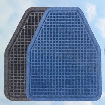 Plastic anti-slip toilet urinal floor mat set,mat for toilet
