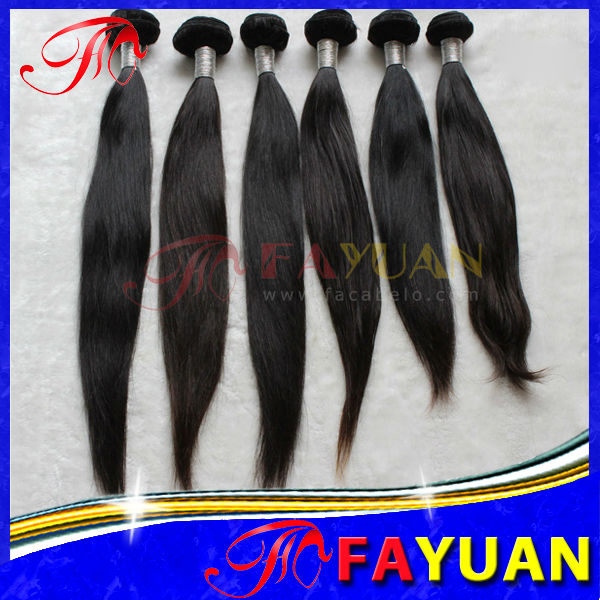 Favorable price full cuticle unprocessed Mongolian straight virgin human hair