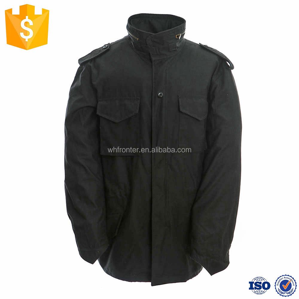 New Seibertron M65 Slim Fit Jacket Field Coat Windbreaker Black Olive Green Natural Fur Collar Winter Hooded Jacket Waterproof Rapid Heat Dissipation Sports & Entertainment