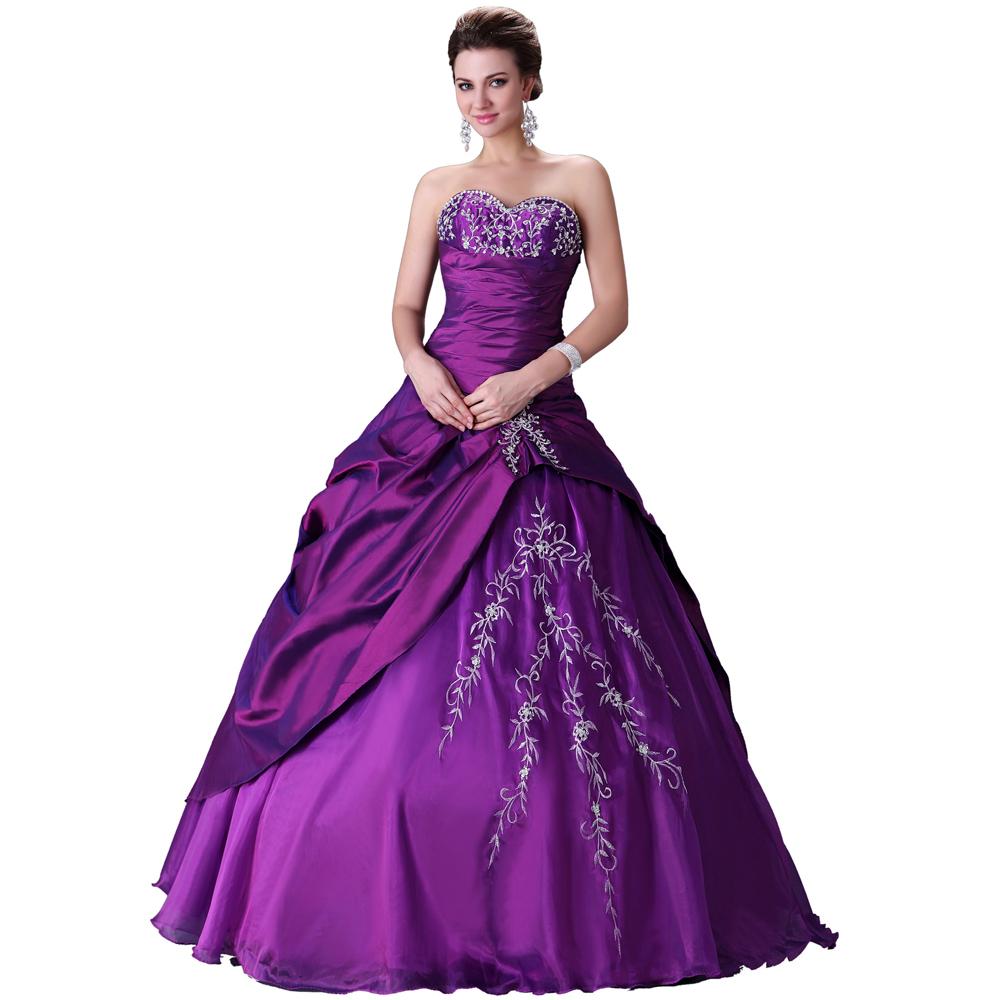 Elegant-Design-Free-Shipping-Purple-Wedding-Dresses-Gown