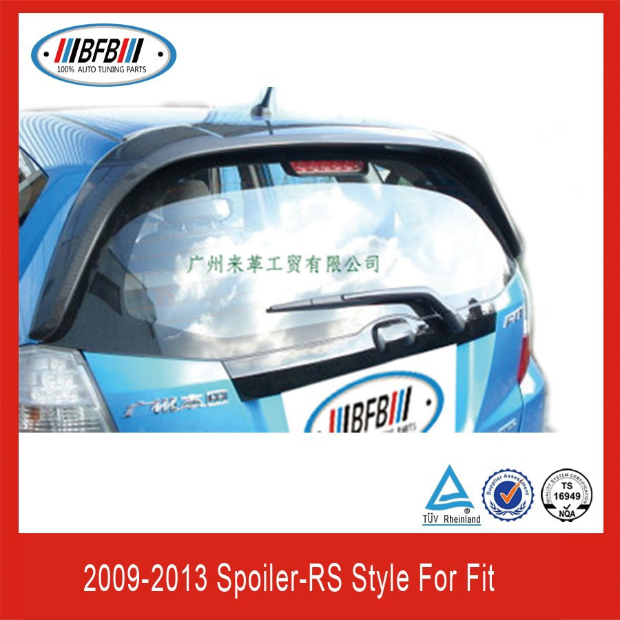 REAR TRUCK ROOF SPOILER FOR HONDA FIT JAZZ 08-12