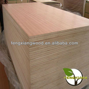 18mm Oak faced plywood, Oak laminated board