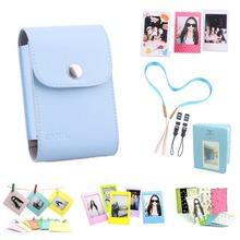 7 in 1 Fujifilm Instax Mini Accessories Bundle(Included: Blue Instax Mini Film Photo Bag/ Mini Album/ 3 L Model Frame…)