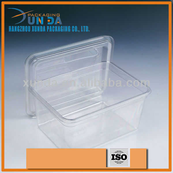 Disposable plastic food container,plastic container