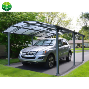 Wholesale China Aluminum Carport Roof Cover Of Carport Greenhouse Plastic Carport