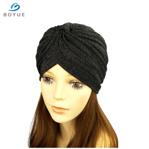 c0802c76778 Hotsale Custom design print polyester head turban hijab hair turban hat for  women