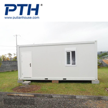 cheap flat-pack and movable 20ft container house for sale