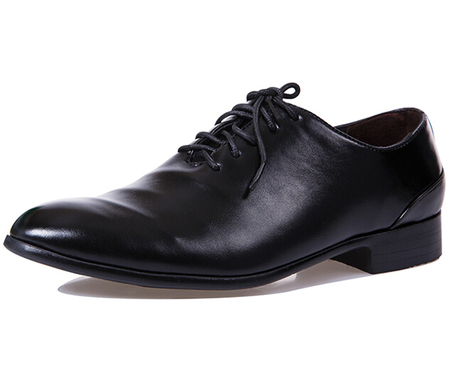 Male White Black Casual Leather Shoes Flats Fashion ...
