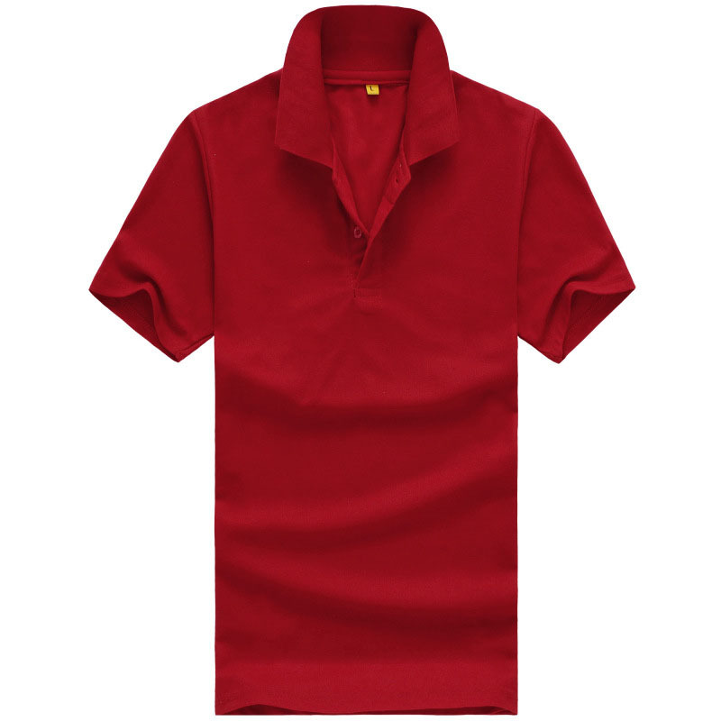 Get Quotations · XXXL Red Masculina Camisa Polo Shirt Cotton Homme Polos  Summer Style Anti Shrinky Men Solid Polo dc63d2743b8a9