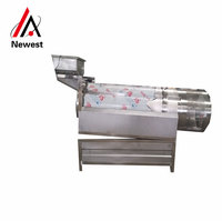 High efficiency lowest price Flavoring Machine / Seasoning tumbler / drum seasoning machine