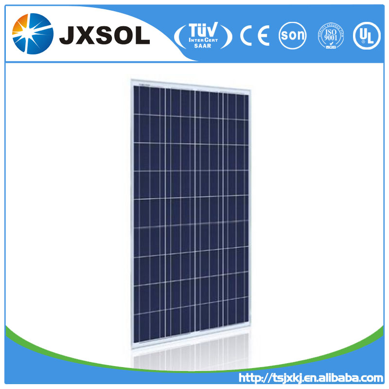 China supplier Tuv Ce Ul Mcs Ohsas18001 pv module/solar panel 150w poly for home solar energy system