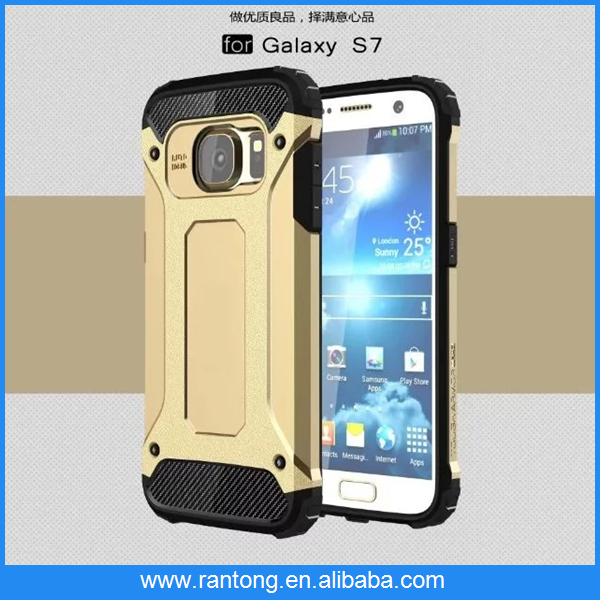 China electronics market new armour cell phone case for samsung galaxy s7 edge