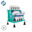 Hot sell rice color sorter machine for myanmar rice,plastic flake color sorter,quinoa color sorter machine