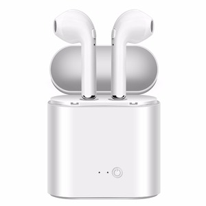 BT 4.2 TWS i7s In Ear Headphone Wireless Earbuds Earphones i8 With Charging Case Wireless Earphone i7s Ear Headphones tws Black
