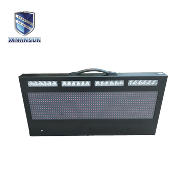 decoration led moving sign equipment road traffic barrier electric sign board