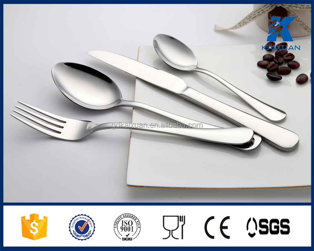 Top quality stainless steel dinner set cutlery set of 72pcs