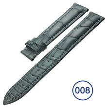 ZLIMSN 10 цветов Роскошные Аллигатор браслет часы из натуральной крокодиловой кожи ремешок для часов 12 мм ~ 24 мм ремешок для часов для мужчин и ж...(Китай)