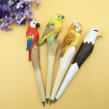 wooden animal pen as novelty pen for souvenirs gifts