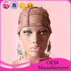 Factory Wholesale Lace Cap For Wig Making Stretch Lace With Adjustable Straps U Part Wig Cap
