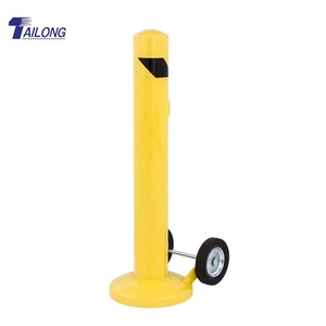 Park Post/ Steel Traffic Road Barrier/Removable Car Park Bollard
