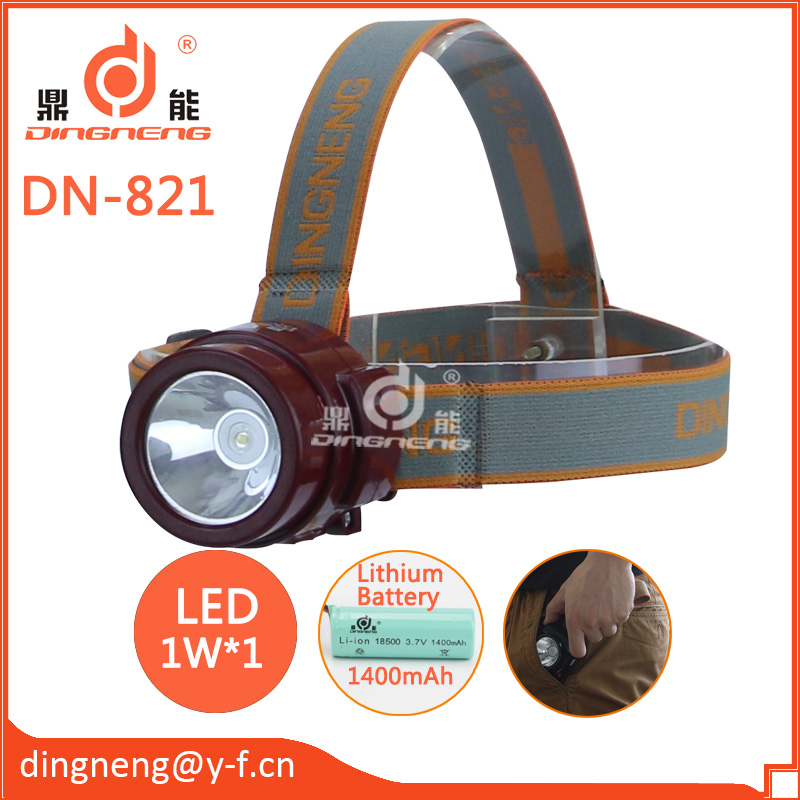 Rechargeable Lithium battery High Power Led Headlamp/Headlight for Camping,Fishing or Other Outdoor activities
