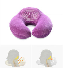 Hot Sale Neck Support Rest Memory Foam U Shaped Travel Neck Pillow