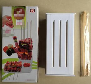 Barbecue skewer kebab tool,Packing in color box as seen on