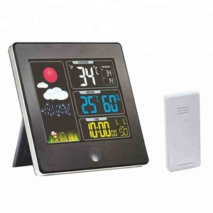 New Product Home Digital Color automatic Wireless Home Weather Station professional