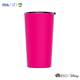 High quality thermocup drinking cups metal sublimation mug with lids