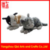 China factory high quality plush toy cat cute lifelike plush cat toy