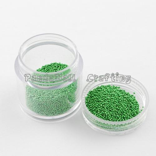 DIY 3D Nail Art Decoration Mini Glass Beads, Tiny Caviar Nail Beads, Mixed Color, 0.6~0.9mm, 25.07g/bottle, 12bottles/box