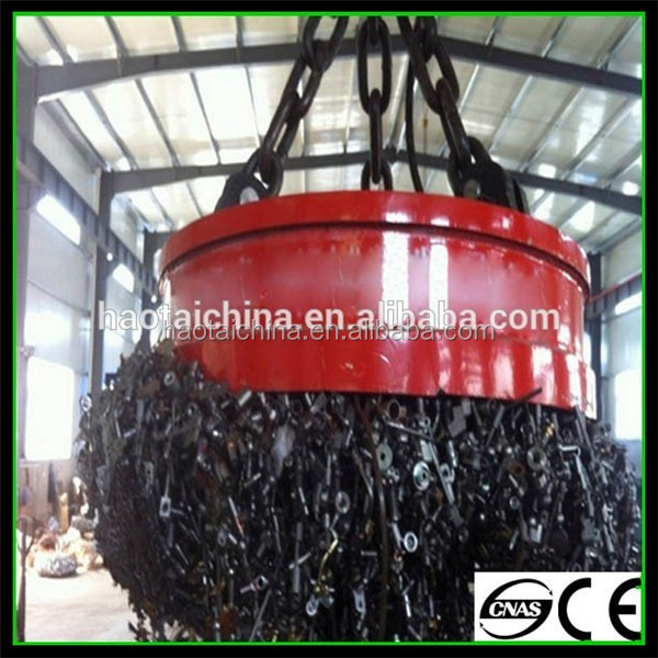 Self Cooling Electromagnetic Iron Separator with High Quality