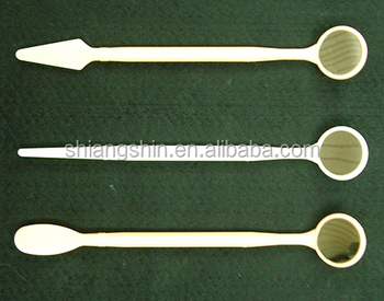 Disposable dental mirrors