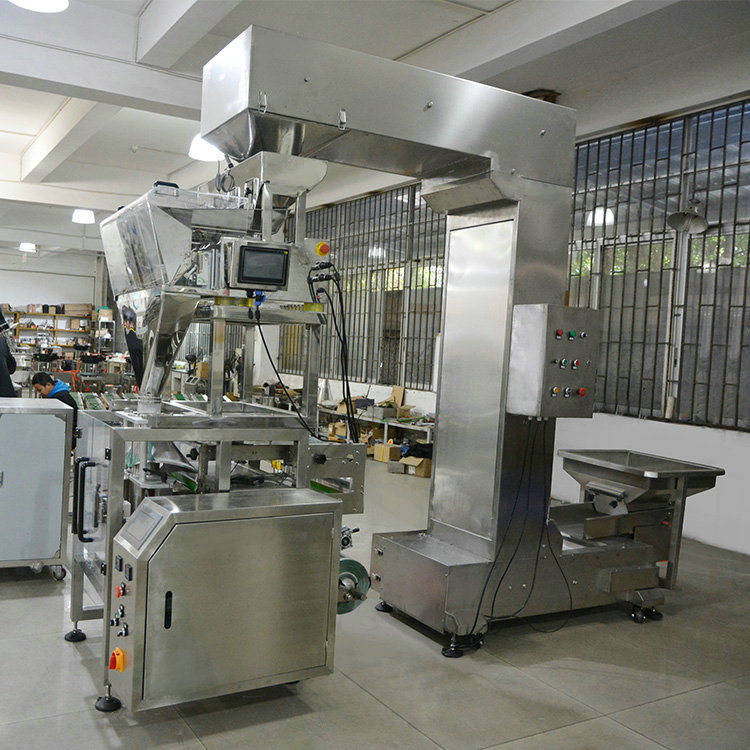 Stainless steel automatic food plastic bag/1kg sugar/1kg bag packing machine