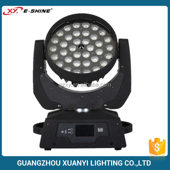 China Stage Lighting Supplier 36*10 4in1 Rgbw Zoom Led Moving Head ...