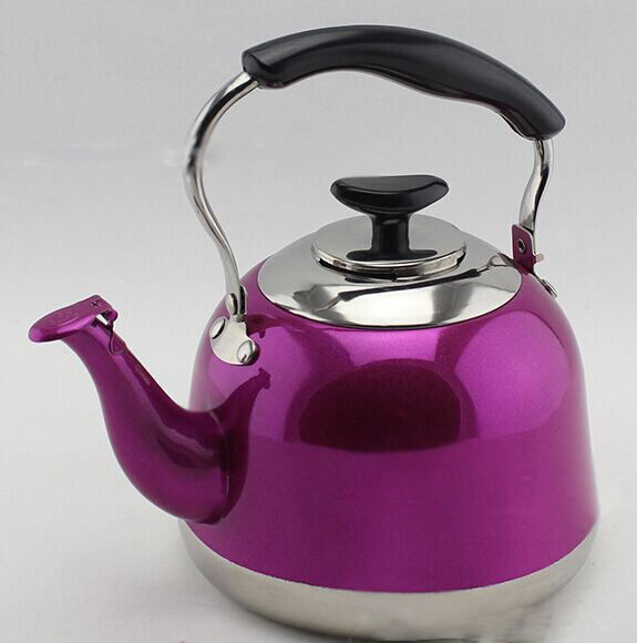 Factory Wholesale Color whistling kettle non electric tea kettle 5L
