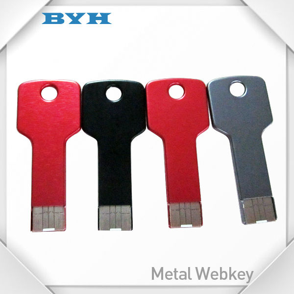 metal key usb flash drive 4gb key mini metal usb pen drive 8gb 16gb metal usb flash drive key
