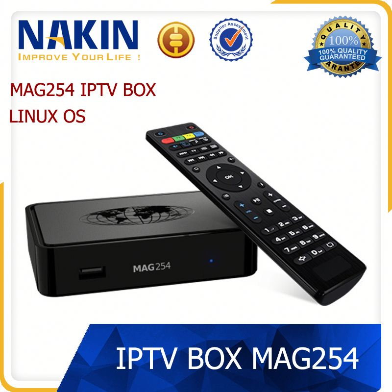 smart USB wifi STi7105 IPTV 1080P LC- MAG250 MAG254 TV box