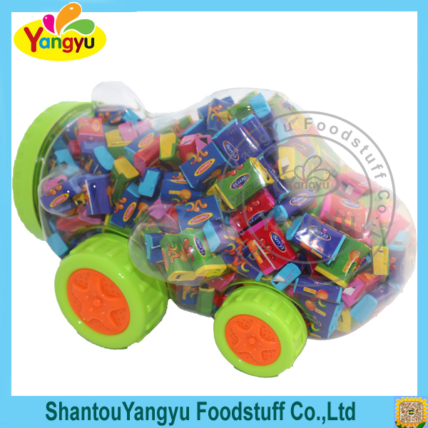 Suitable for party Vitamin C fruits flavors chewing gum factories